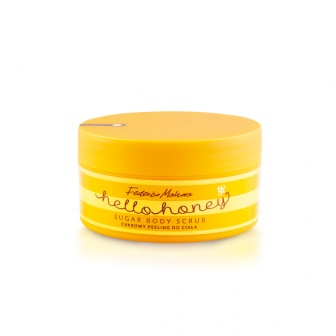 Esfoliante natural de açúcar HELLO HONEY
